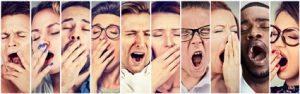 Konzeptionelle Fehler beim Redenschreiben ziehen oft großes Gähnen nach sich.